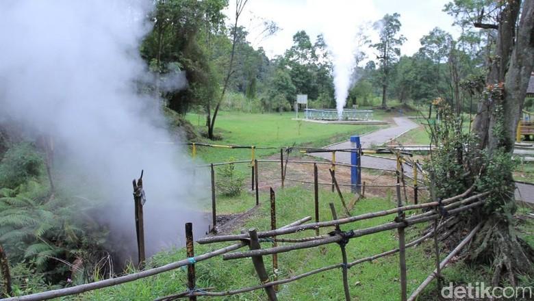 Kawasan Kawah Kamojang di perbatasan Bandung-Garut (Wisma Putra/detikTravel)