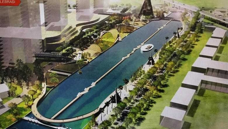Desain akhir penataan Kali Malang zona 1 (ridwankamil/Instagram)