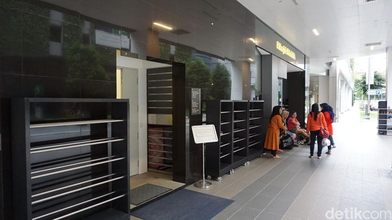 Ada banyak masjid atau musala di Singapura, termasuk di kawasan wisata belanja Orchard Road (Masaul/detikTravel)