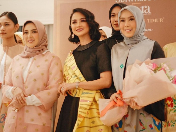 Sarah Sofyan, Ririn Ekawati, dan Viena Mutia. Foto: Silmia Putri/Wolipop