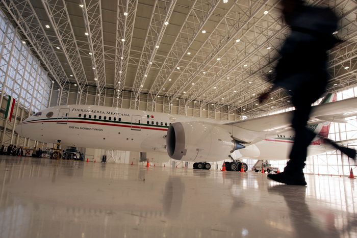 Pemerintah Meksiko dibawah kepemimpinan presiden Meksiko terpilih Andres Manuel Lopez Obrador akan segera mengurus proses lelanng untuk menjual pesawat kepresidenan.