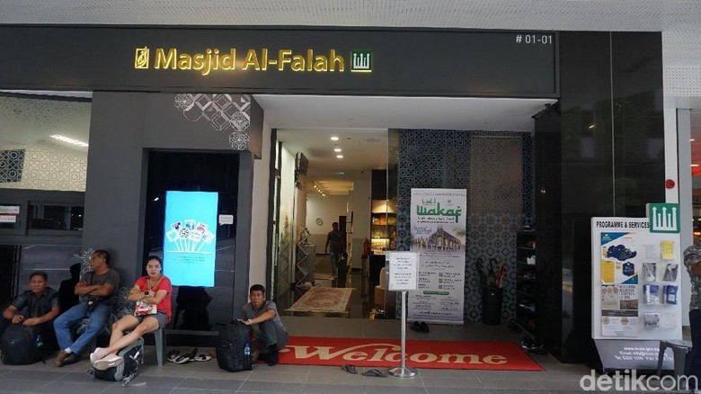 Masjid Al Falah Orchard Road SIngapura (Masaul/detikTravel)