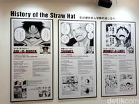 Begitu masuk, kita akan mengenal 3 tokoh utama di One Piece yakni Gol D Roger, Shanks dan tentu Monkey D Luffy (Afif Farhan/detikTravel)