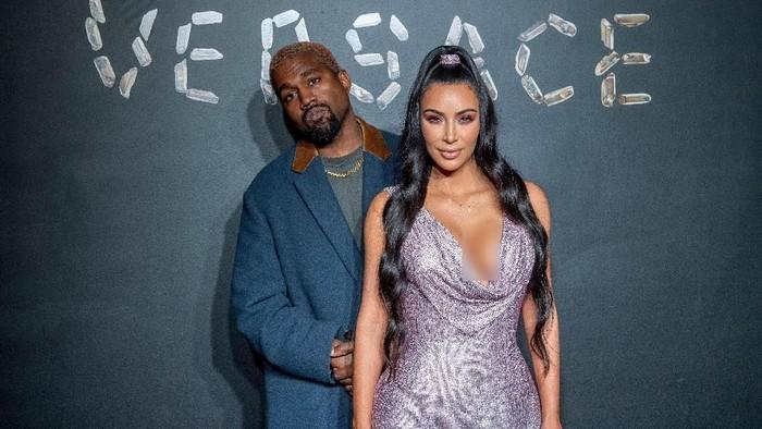 Kim Kardashian dan Kanye West. Foto: Roy Rochlin/Getty Images