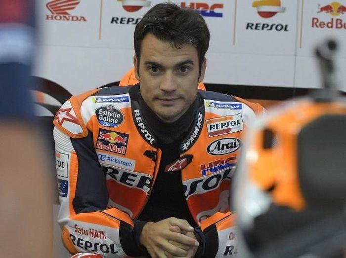 Dani Pedrosa akan jajal motor KTM di pertengahan Desember. (Foto: Jose Jordan/AFP Photo)