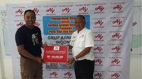 Ajinomoto Beri Bantuan Produk Dapur Umum ke Korban Gempa Sulteng
