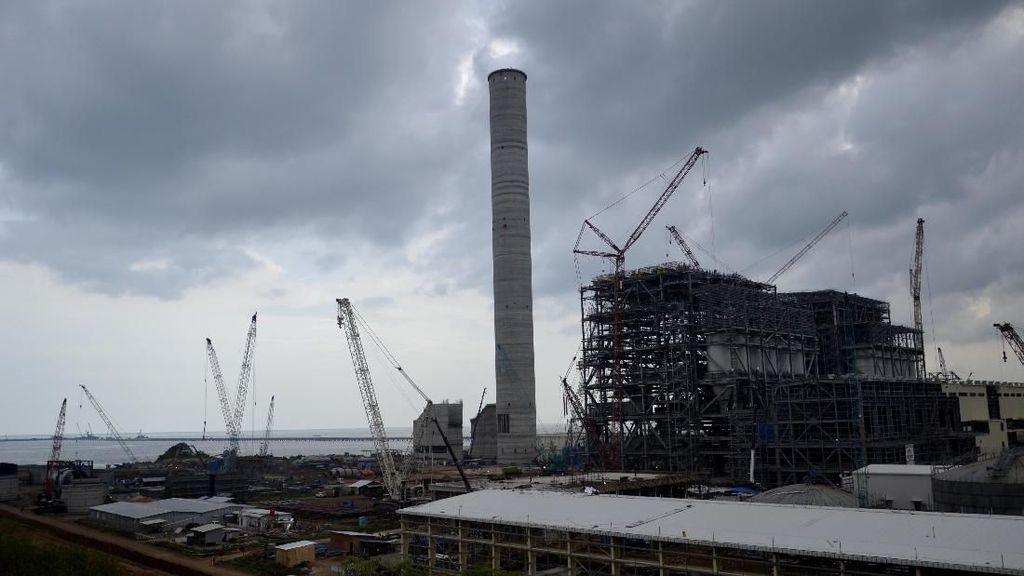Blusukan ke PLTU Batang, Rini: Oktober 2019 Kelar 1.000 MW