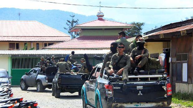 TNI-Polri Terjunkan Satgas 'Pemburu' KKB Egianus Kogoya