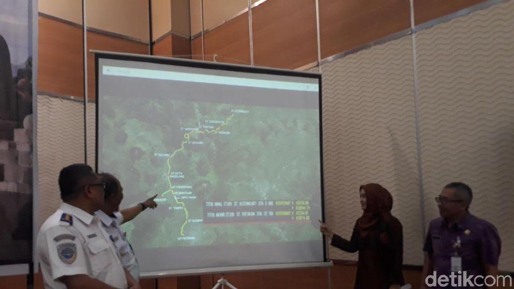 Rel Kereta Semarang-Yogyakarta via Magelang akan Dihidupkan