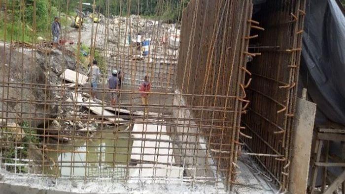 Proyek Jembatan Trans Papua Lokasi Penembakan 31 Pekerja Foto: Istimewa/Ditjen Bina Marga Kementerian PUPR