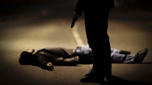 Ilustrasi korban penembakan.