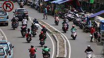 Baru Sebulan Dirazia, PKL di Jalan Tanjung Selor Menjamur Lagi
