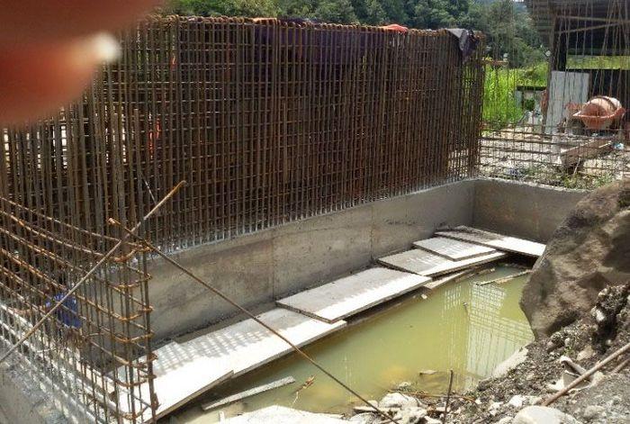 Peristiwa pembunuhan di proyek jembatan ini diduga terjadi pada Sabtu, 1 Desember 2018, dan Minggu, 2 Desember 2018. Istimewa/Ditjen Bina Marga Kementerian PUPR.