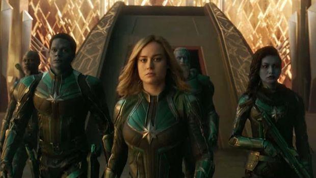 Pertarungan 'Captain Marvel' di Trailer Terbaru