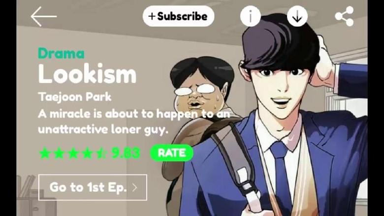 Cerita Masih Panjang, Webtoon Lookism Selesai 2 Tahun Lagi