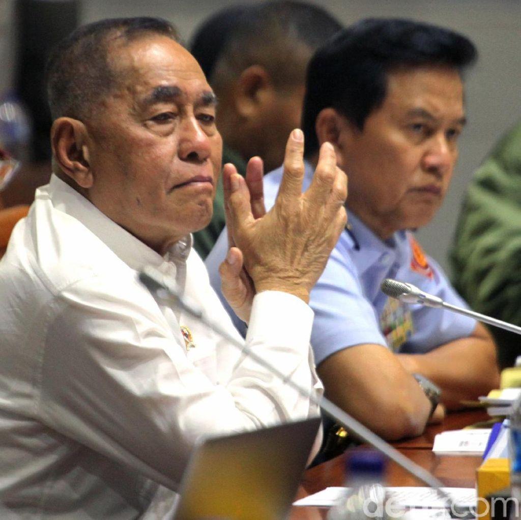 Menhan soal TNI Dikeroyok Jukir: Melawan Aparat Harus Dihukum