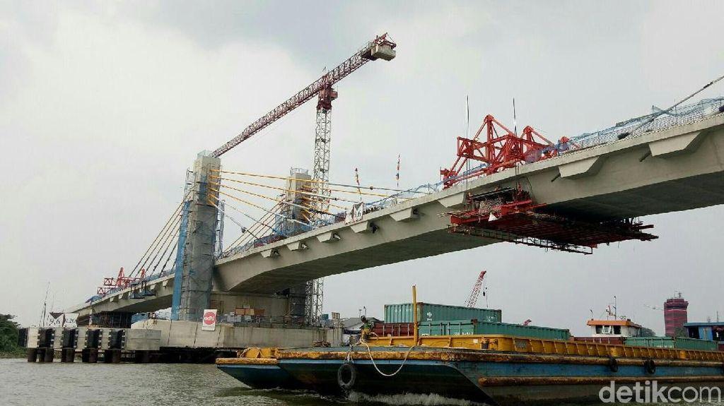 Jembatan Musi IV Palembang Siap Diresmikan Jokowi