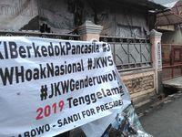 Spanduk Bertagar 2019 Tenggelamkan PKI di Jakpus