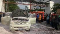 Mobil Terbakar di Makassar, Sempat Terdengar Ledakan