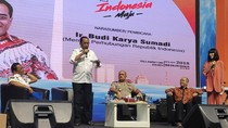 Di Depan Supir Taksi Online, Menhub Paparkan Proyek Jokowi