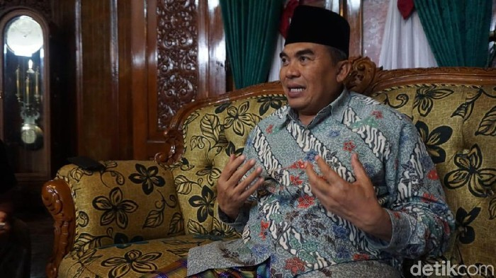 Bupati Jepara, Ahmad Marzuqi/Foto: Wikha Setiawan/detikcom