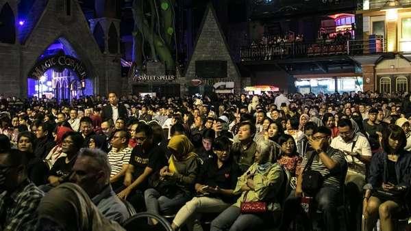 Aksi MLTR di Bandung, Usai Isi Acara Crazy Rich Surabayan