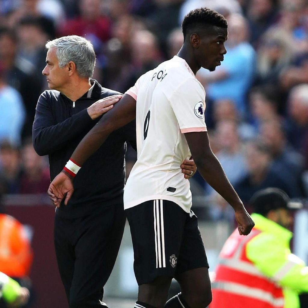 Evra: Sudah Cukup soal Pogba dan Mourinho