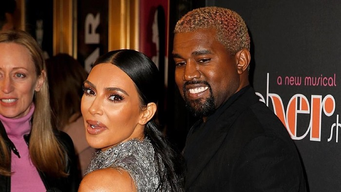 Kim Kardashian dan Kanye West. Foto: Dominik Bindl/Getty Images