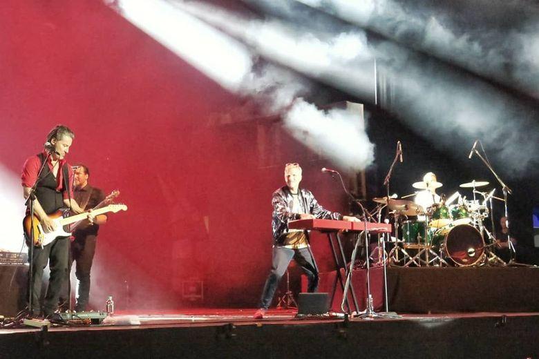 Michael Learn to Rock menggelar konser di Trans Studio Bandung pada akhir pekan lalu.Dok. Purnadaya Media Relation