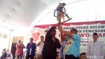 Lewat BPN, Relawan Kudus Titip 2 Wayang Ini untuk Prabowo-Sandi