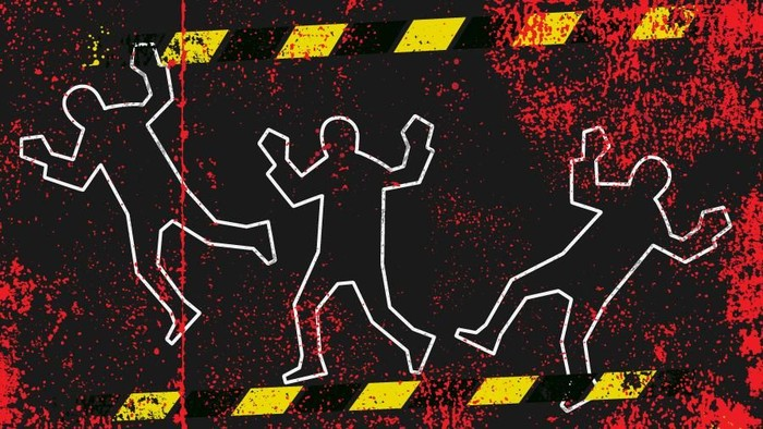 Ilustrasi fokus (bukan buat insert) 31 Pekerja Proyek Trans Papua Dibunuh (Luthfy Syahban/detikcom)