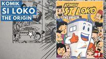 Komik Si Loko Kisahkan Cerita Seru Maskot PT KAI dan Penumpang