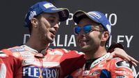 Agar Garasi Ducati Lebih Adem, Petrucci dan Dovi Akan Berteman