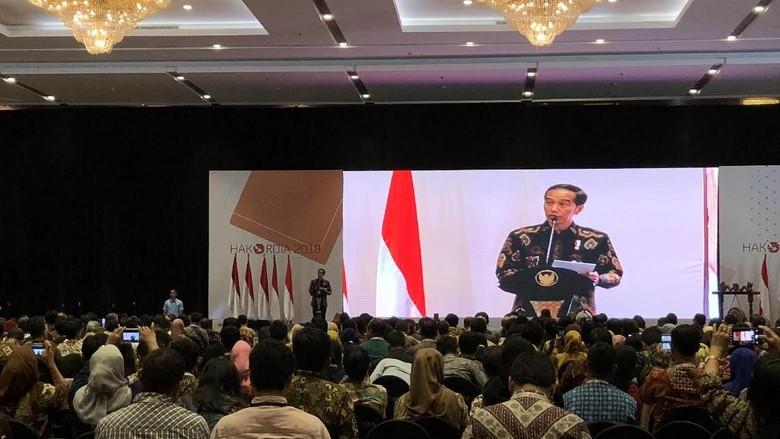 Ini Pesan Jokowi di Peringatan Hari Antikorupsi