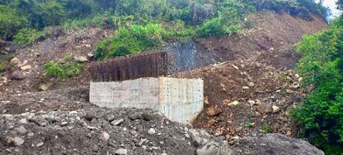 Para pekerja itu ditembak saat sedang membangun jembatan di Kali Yigi dan Kali Aurak. Istimewa/Ditjen Bina Marga Kementerian PUPR.