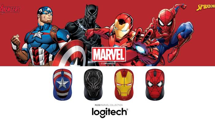 Logitech Marvel. (Foto: Logitech)