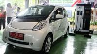 Stasiun Pengisian Listrik atau Electric Vehicle Charging Station (EVCS) ini diluncurkan di Kantor BPPT, Jakarta Pusat, Rabu (5/12/2018).