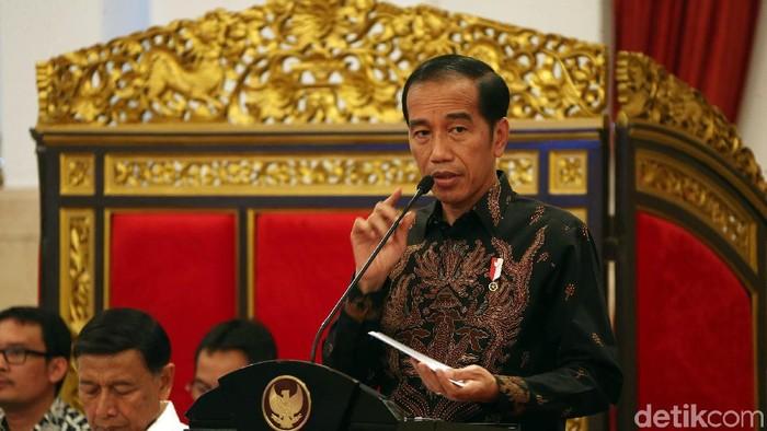 Foto: Presiden Jokowi. (Rengga Sancaya/detikcom).