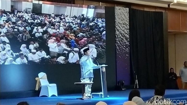 Saat Prabowo Kritik Media soal Berita Reuni 212
