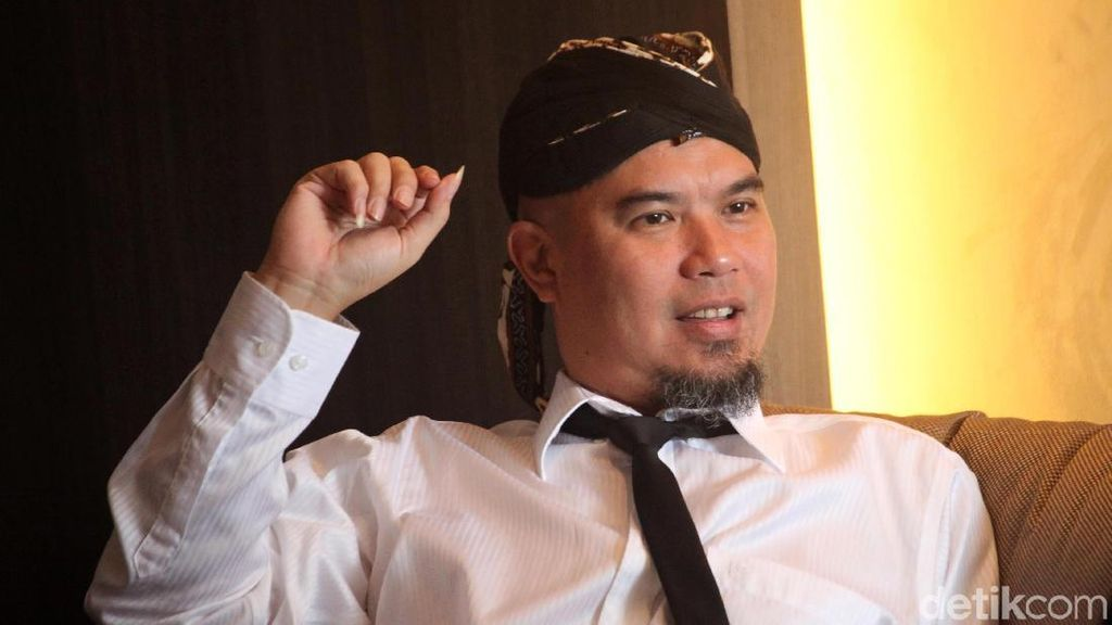 Ditanya soal Maia Estianty, Ahmad Dhani Berkelit Bicara Kabar Anak-anak