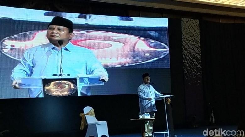 Prabowo soal Reuni 212: Kita Dipandang dengan Sebelah Mata