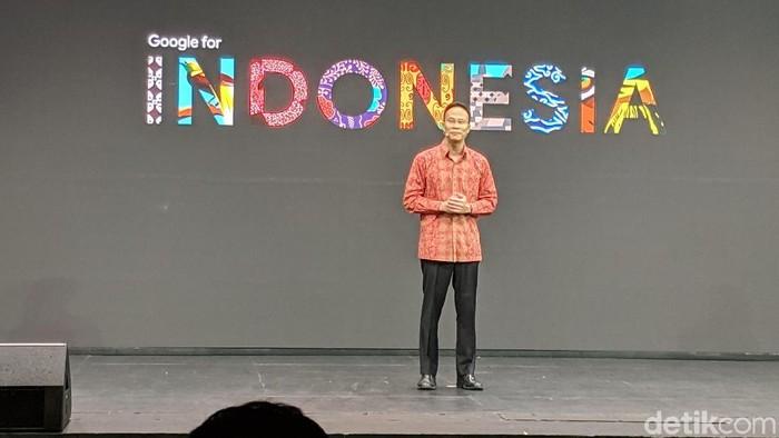 Managing Director Google Indonesia Randy Jusuf . Foto: Adi Fida Rahman/detikINET