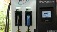 Sejalan dengan program percepatan mobil listrik nasional, pada tahun 2018, BPPT menyiapkan 2 sistem charging station yaitu fast charging station 50 kW di BPPT Jakarta dan smart charging station 20 kW di BZTKE-BPPT Puspiptek, Tangerang Selatan.