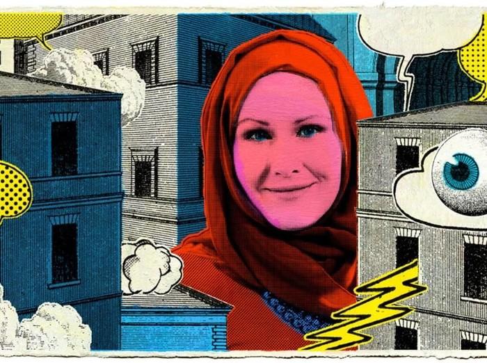 Hijabers di balik tokoh superhero muslim Marvel. Foto: Istimewa
