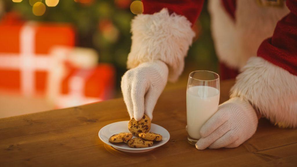 Ini Dia Makanan Enak yang Disiapkan Anak-Anak untuk Santa Claus di 8 Negara