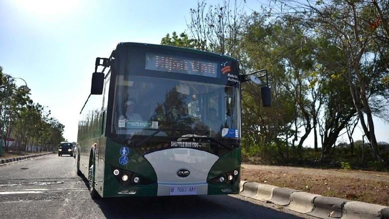 Bus Listrik BNBR Foto: Dok. BNBR
