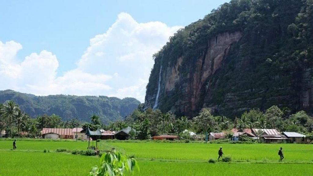 Air Terjun Film Up Ada di Payakumbuh