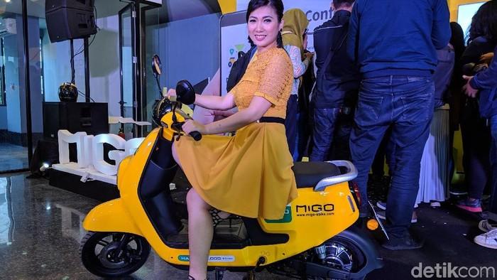 sepeda listrik Migo. (Foto: detikINET/Adi Fida Rahman)