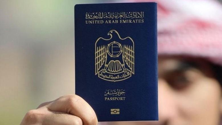 Ilustrasi paspor Uni Emirat Arab (Thinkstock)