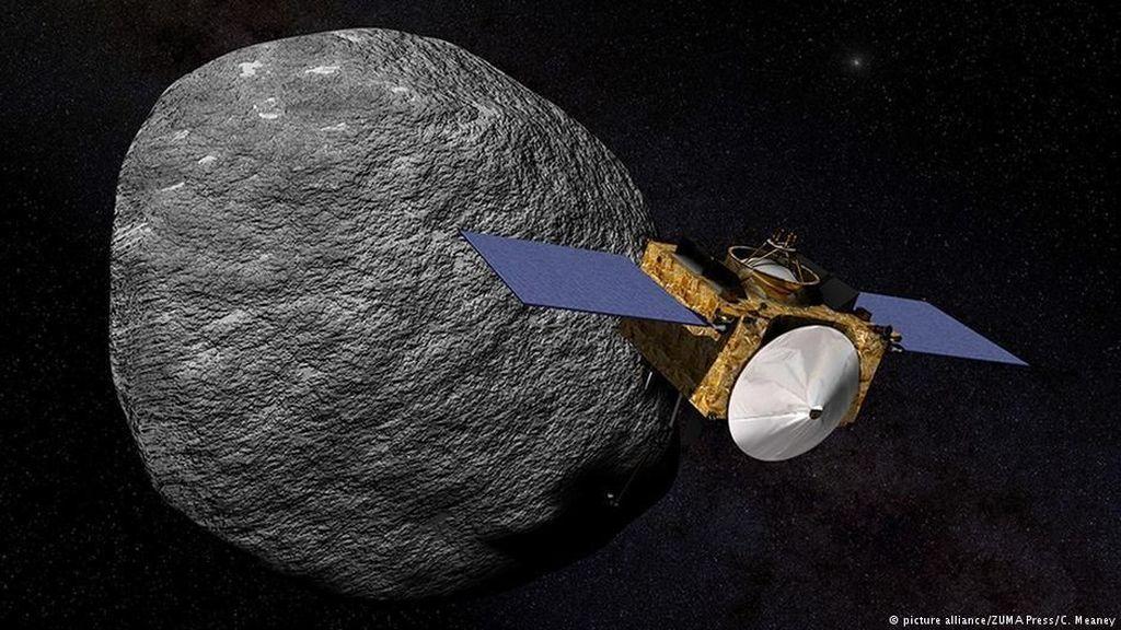 Bumi dan Bulan Makin Sering Ditimpa Asteroid